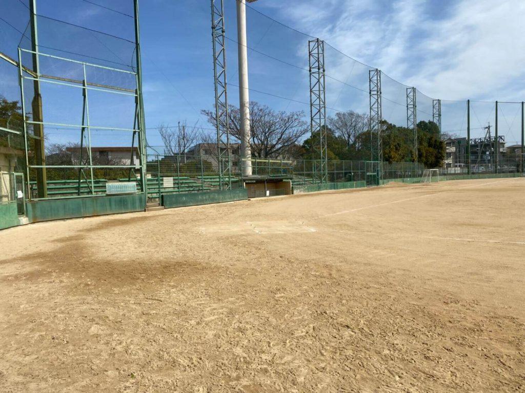 ハルヒの聖地 中央運動公園野球場1