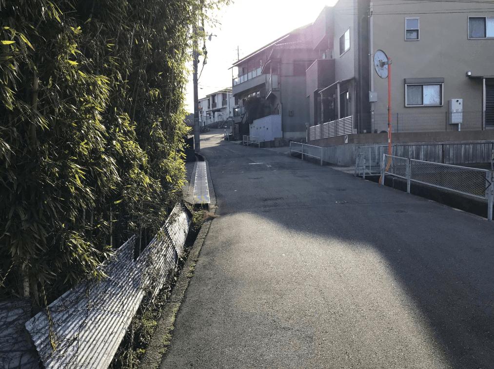 ハルヒの聖地 ジョンスミス坂